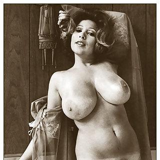 Vintage Bilder mit dicken geilen Titten aus den 80ern