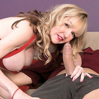 Omasex mit Janee Diamond